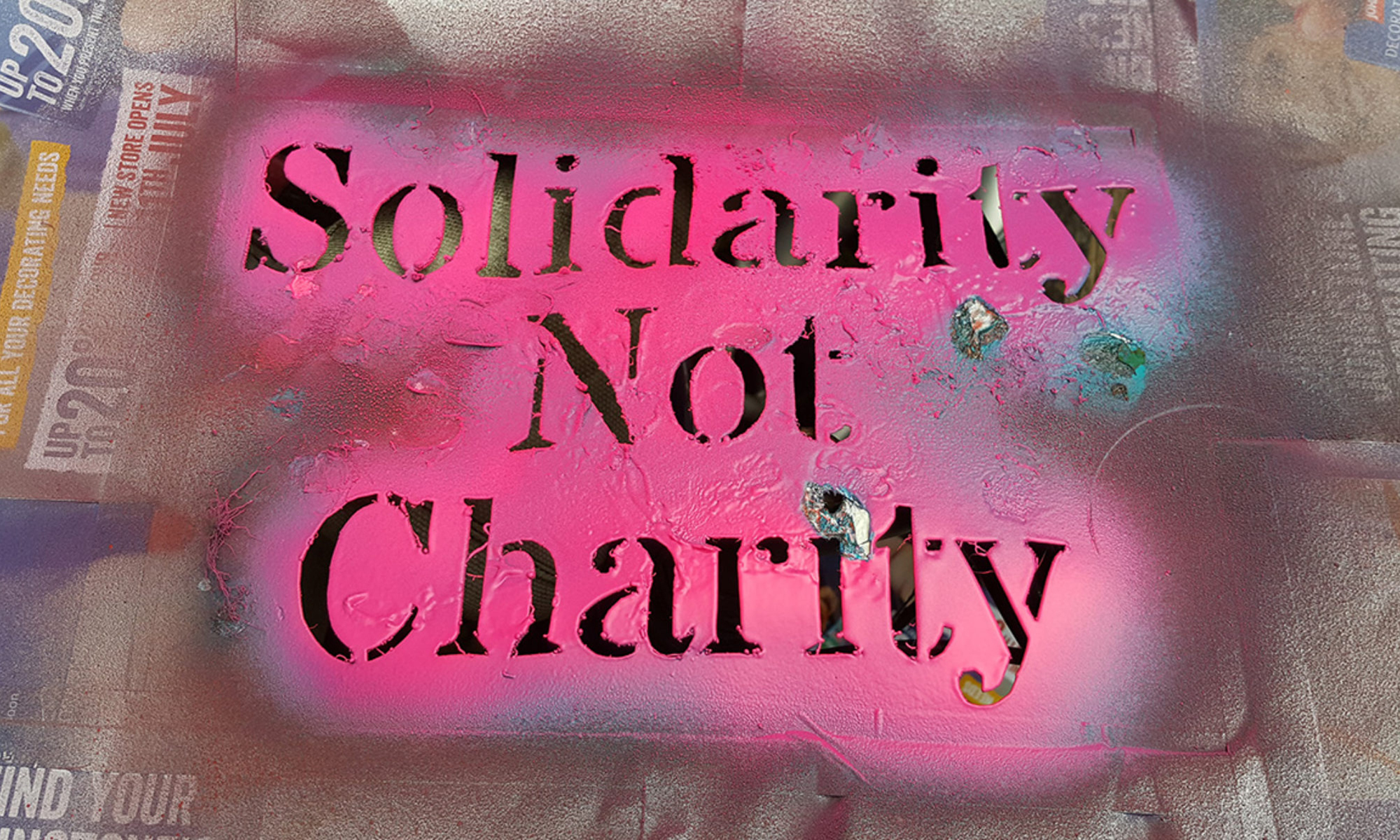 Solidarity Not Charity
