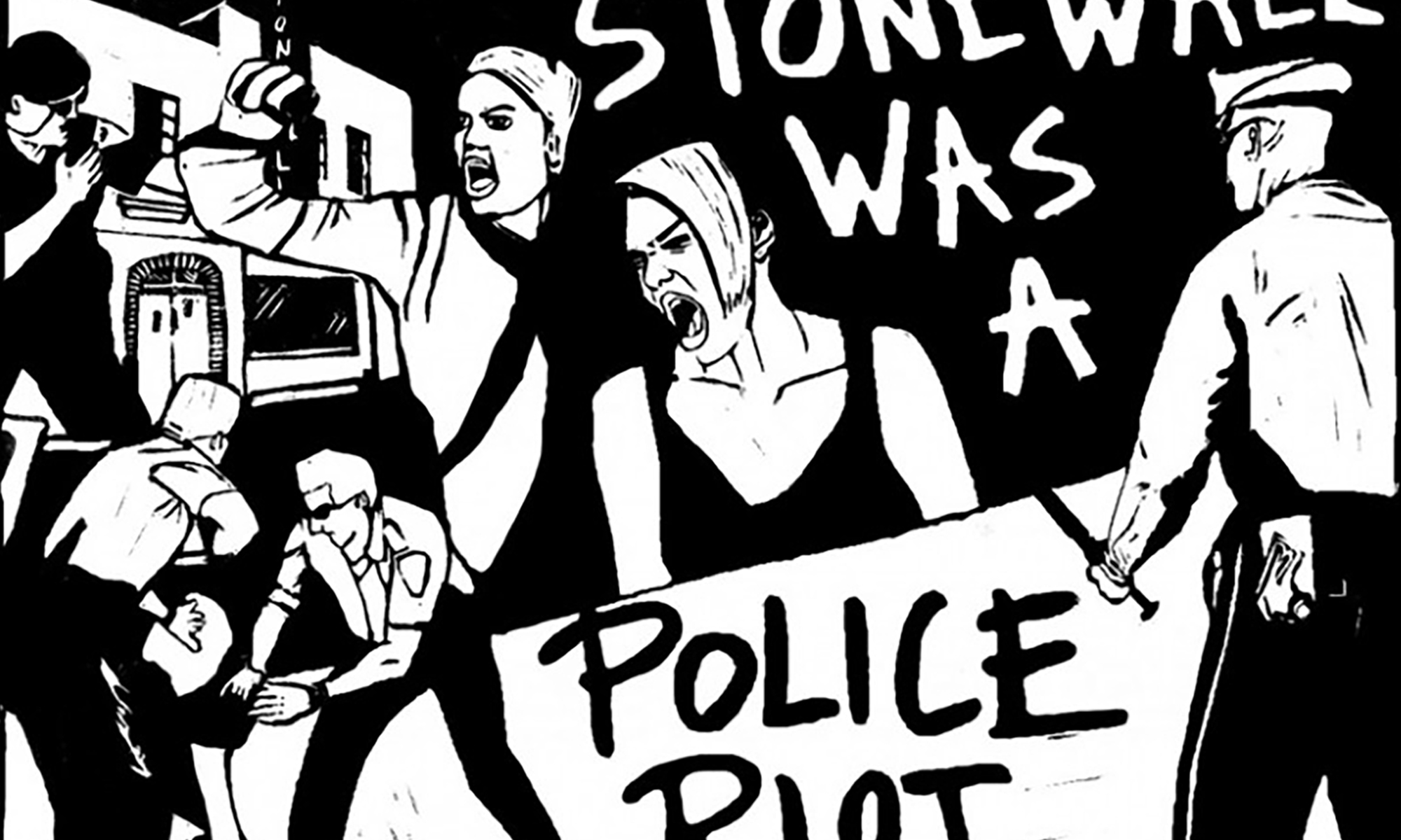 Stonewall was a police riot! Queer and Trans people say NO NEW JAIL!