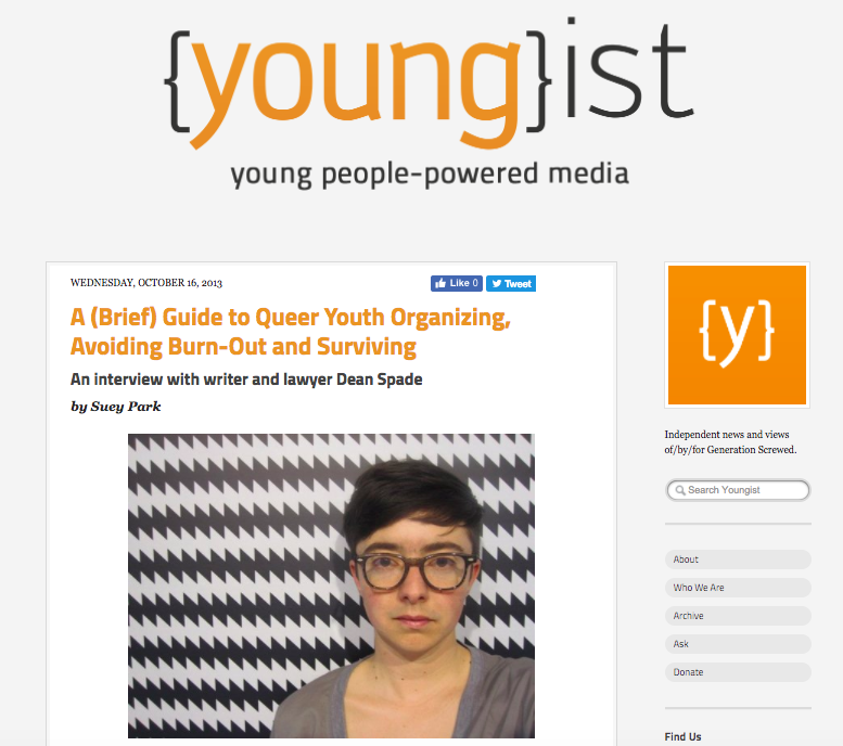 Youngist Interview with Suey Park